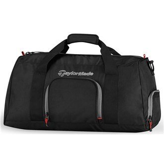 2015 TaylorMade Player's Mens Golf Duffle Bag/ Travel Bag Black by TaylorMade by TaylorMade