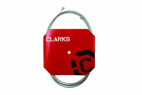 Clarks Tandem Rear Brake Cable Silver/Red, 305 cm