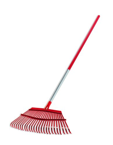(Corona RK 62061 Fixed Tine Leaf Rake, Aluminum Handle, 19-Inch Wide)