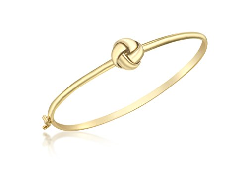 Or jaune 9 ct 4 Way Nœud Flexible Bracelet