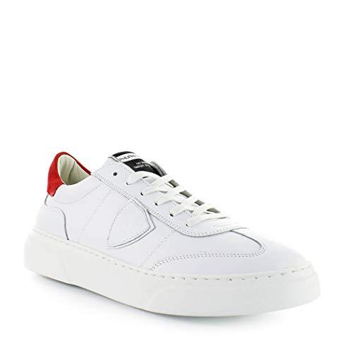 Primavera Uomo 2019 Philippe Rosso Estate Temple Bianco Scarpe Da Sneaker Model U8WwvP8qt