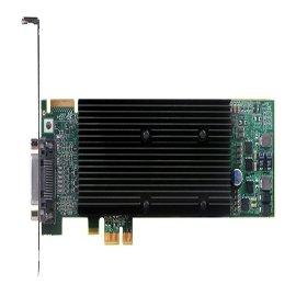 Matrox Video Card M9120-E512LAU1F Plus Low Profile/ATX PCI-Express x1 512MB DDR2 DualHead RoHS and WEEE
