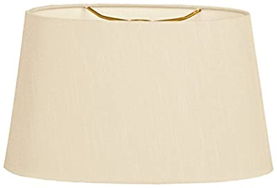 Royal Designs Shallow Oval Hardback Lamp Shade