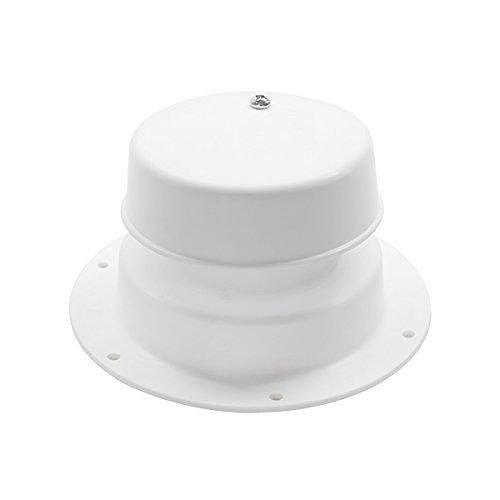 Heng's 10001-C Polar White Plumbing Vent - Vent Plumbing Plastic