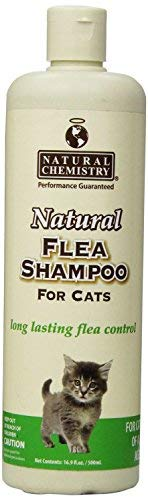 Natural Flea Shampoo for Cats & Kittens, 16.9oz(2 Pack)