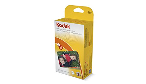 Kodak G-50 EasyShare Printer Dock Color Cartridge & Photo Paper Refill Kit