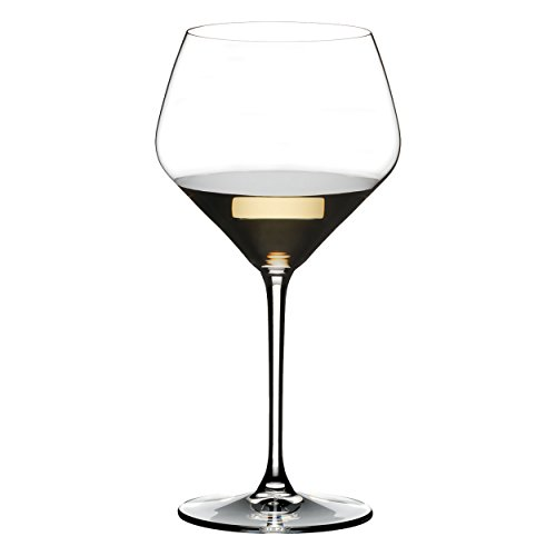 Riedel Extreme Crystal Oaked Chardonnay Wine Glass, Buy 3 Get 4 Glasses (Glasses Chardonnay Crystal)