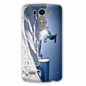 Amazon.com: Case Carcasa LG K10 Sport Glisse - - snowboard ...