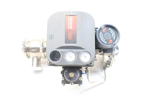FISHER 89000 DVC6010F Baumann 1-1/2IN TRI-CLAMP Control Valve D642526 ()