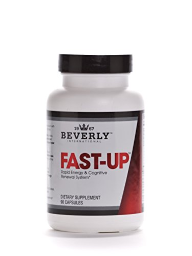 Beverly International Fast-Up, 90 capsules. The Feel-Better, Get-More-Done brain booster. Ups mood, energy, motivation and cognitive performance in moments. (Beverly International Nutrition Supplements)