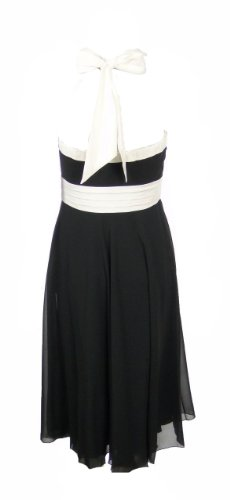 Meena Dress Coast amp; Halter Apparel Black Apparel White Apparel 12 fqSCwS