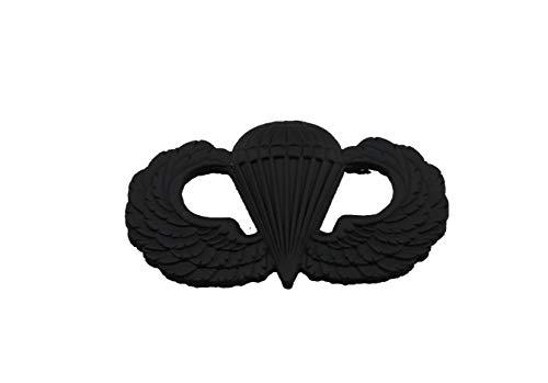 hibadge US Army Airborne Paratrooper Parachutist Jump Wings Badge Insignia PIN-Black