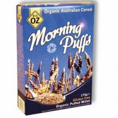 Big Oz - Organic & Gluten Free Millet Puffs - 225g