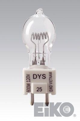 Eiko EKB G-7 GZ9.5 Base Halogen Bulb, 120V/420W - 120v 420w Lamp