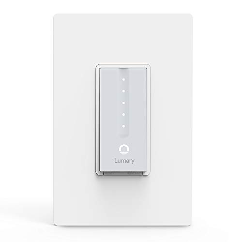 Lumary L-DS100 Dimmer Smart Light Switch with Wifi and Voice Control, Compatible with Alexa, Google Assistant, IFTTT (No Hub required)