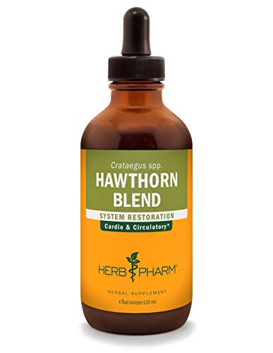 Herb Pharm Hawthorn Blend Liquid Extract for Cardiovascular and Circulatory Support - 4 Ounce (Best Hawthorn Berry Extract)