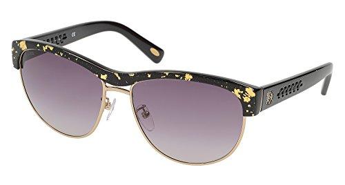 Gold Black SLW844M59L510 Crystal Gafas Mujer de Sol Loewe para 59 H4q0w77
