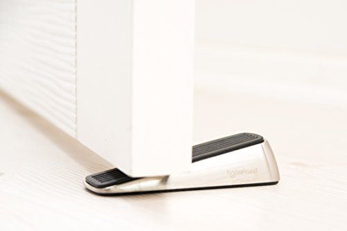 Homesnest Door Stopper, Heavy Duty Wedge that Holds Doors Firmly and Doesn't Budge, Made of Rubber and Stainless Steel (Contains 2 Stoppers) Door Pinch as Bonus by homesnest (Image #5)