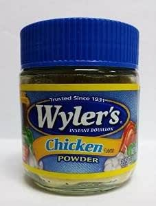 Wyler's Instant Bouillon Chicken Powder 3.75 oz. (Pack of 2)