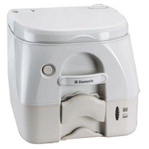 Dometic -972 Portable Toilet 2.6 Gallon - Tan