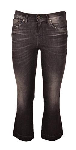 EASY Jeans TWENTY cod NERO KAOS SIZE Donna 42 DL002 AwWqxSg6d