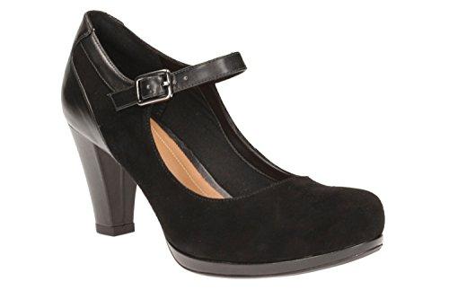 Zapatos de tac�n, color Negro , marca CLARKS, modelo Zapatos De Tac�n CLARKS CHORUS HALO Negro negro