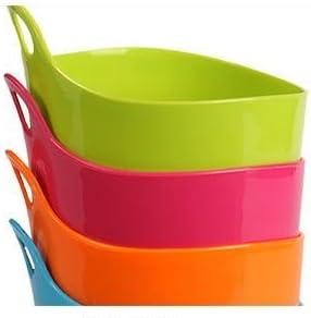 Da.Wa Creative Mini Trompette Bureau poubelles de Table en Plastique Stockage Tube d/ébris Seau Fournitures Cuisine,Vert