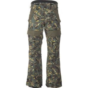 Adidas Snowboarding Greeley Insulated Pant - Camo Print Sz Md by adidas