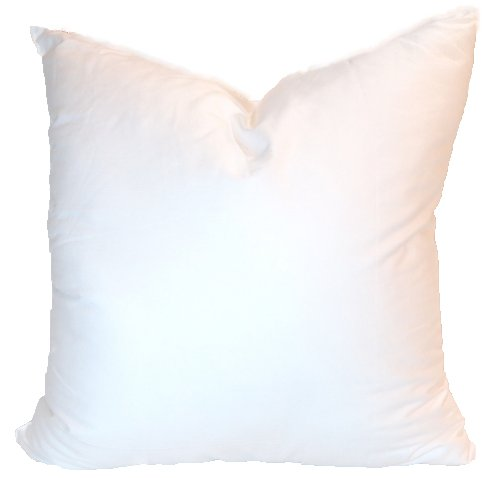 Amazon.com: Pillowflex Synthetic Down Pillow Form Insert, 18 by 18-Inch:  Home u0026 Kitchen