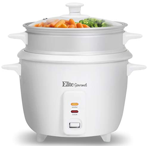 Maxi-Matic ERC-008ST Rice Cooker, 16 Cup, White
