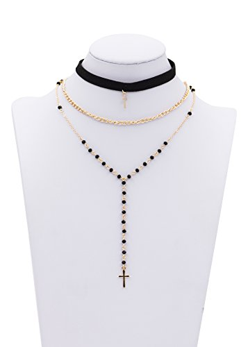 Zealmer Pendant Necklace Leather Lace up