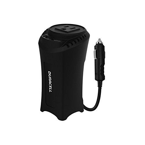 Inverter 175w Power (Duracell DRINVC150 Black Portable Power Inverter, 200 W)