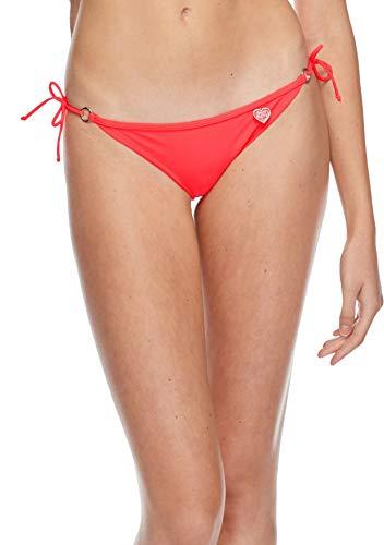 (Body Glove Women's Smoothies Brasilia Tie Side Cheeky Bikini Bottom Swimsuit, Diva, X-Large)