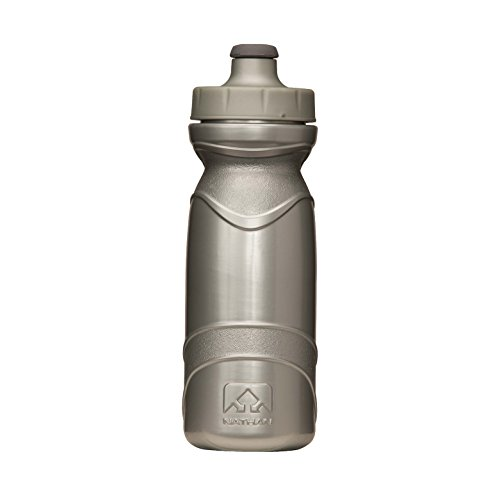 Nathan Tru-Flex Bottle, 22-Ounce, Silver (Nathan Bottle compare prices)