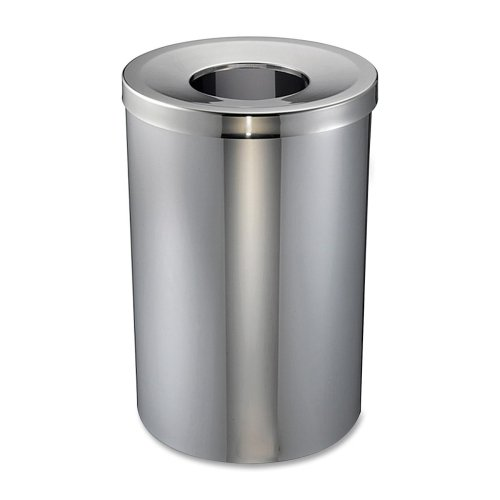 30 gal stainless trash can - 3