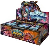 Booster World Warcraft Of Packs - World of Warcraft TCG WoW Trading Card Game Blood of Gladiators Booster Box (24 Packs)