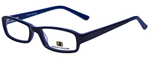 Body Glove Designer Eyeglass Frames BB128-BKB in Black Blue KIDS SIZE ()