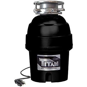 Joneca T 960 Sl Waste Disposer Black Amazon Com