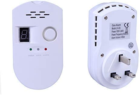 DIGITAL Display Gas Alarm Detector LPG