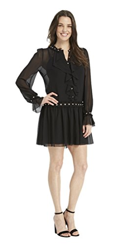 Juicy Couture Black Ruffle Dress - 1