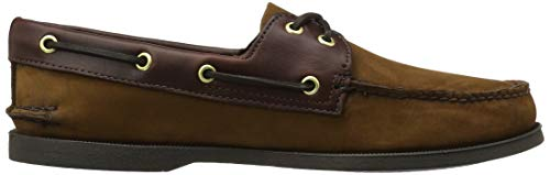 da Scarpe Authentic Brown 2 Sperry Eye Brown Barca Original Marrone Buc Uomo RXgwxxnZI