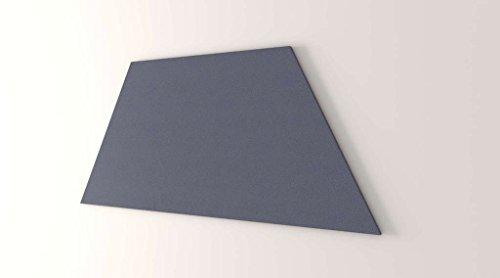 Obex 24X60-TB-Z-TW 24'' x 60'' Obex Trapezoid Tackboard, Twilight, 24'' x 60'' by OBEX