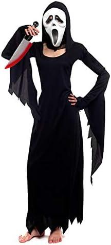 Partilandia Disfraz Asesina Scream para Mujer (L): Amazon.es ...