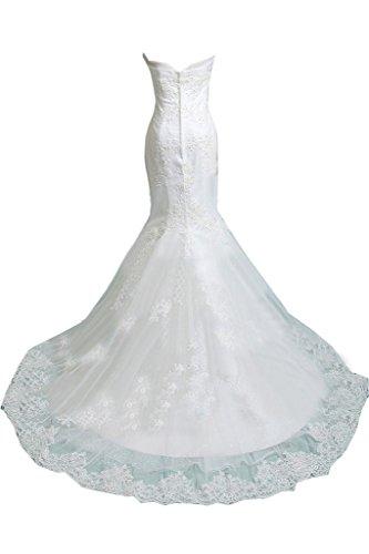 TOSKANA BRAUT - Vestido - para mujer blanco