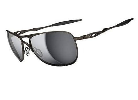 Oakley Mens Crosshair Sunglasses (OO6014) Gunmetal/Grey Titanium
