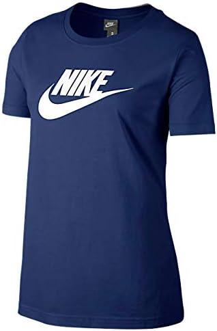 レディース ロゴ Tシャツ ブルーボイド/ホワイト 846469 478