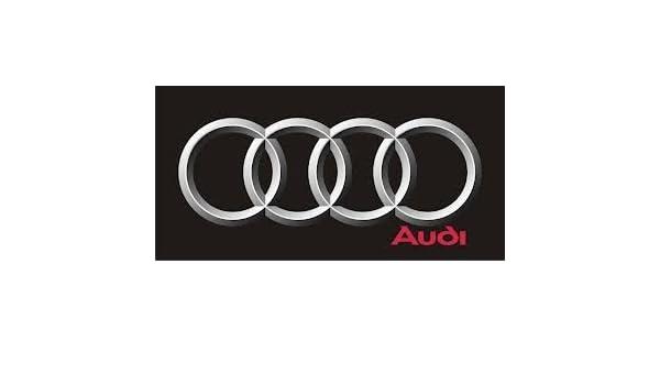 Amazon Com Audi Flag Big Rings 1500mm X 900mm Black Bgrd Ob