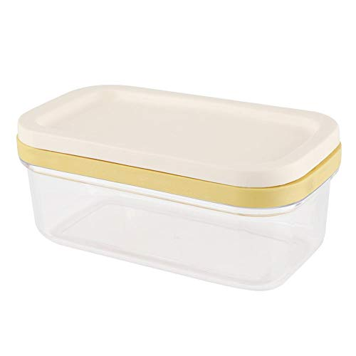 (Butter Box Cheese Container Keeper With Cutting Net Food Storage Box Kitchen)