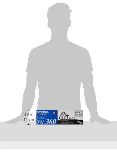 Brother Genuine TN360 High Yield Mono Laser Toner Cartridge