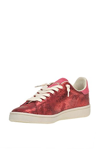 Femme MCGLCAK04061I Baskets Cuir Rouge Lotto 8wPOdqPB
